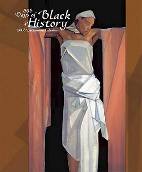 365 Days of Black History Engagement Calendar- Cover Image- Woman Offered #3 by Janet McKenzie